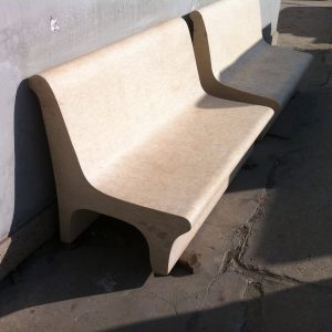 Natural stone bench - Special part