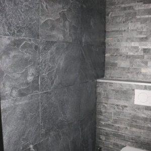 Silver Grey natural stone wall and siding
