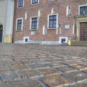 Elegance of natural cobblestone