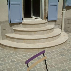 Natural stone porch - Special order