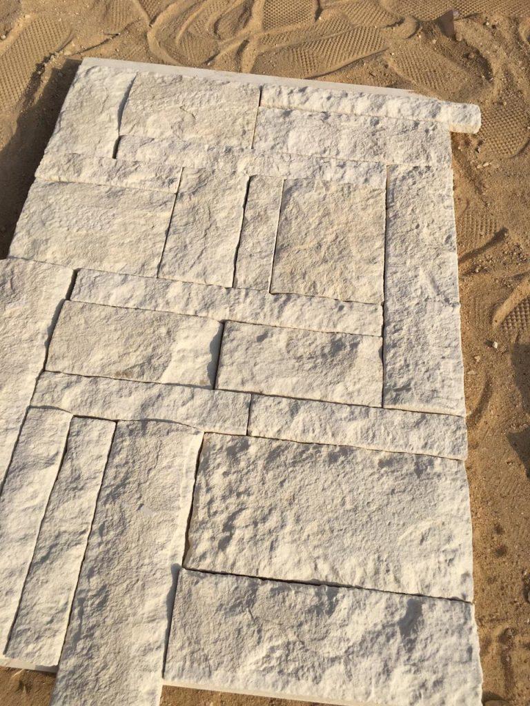 Limestone of Jericho - Split face