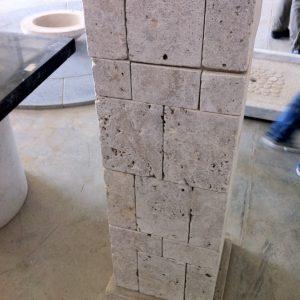 Natural stone pillbox