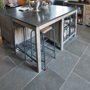 Forest Grey natural floor stone - Brushed finish