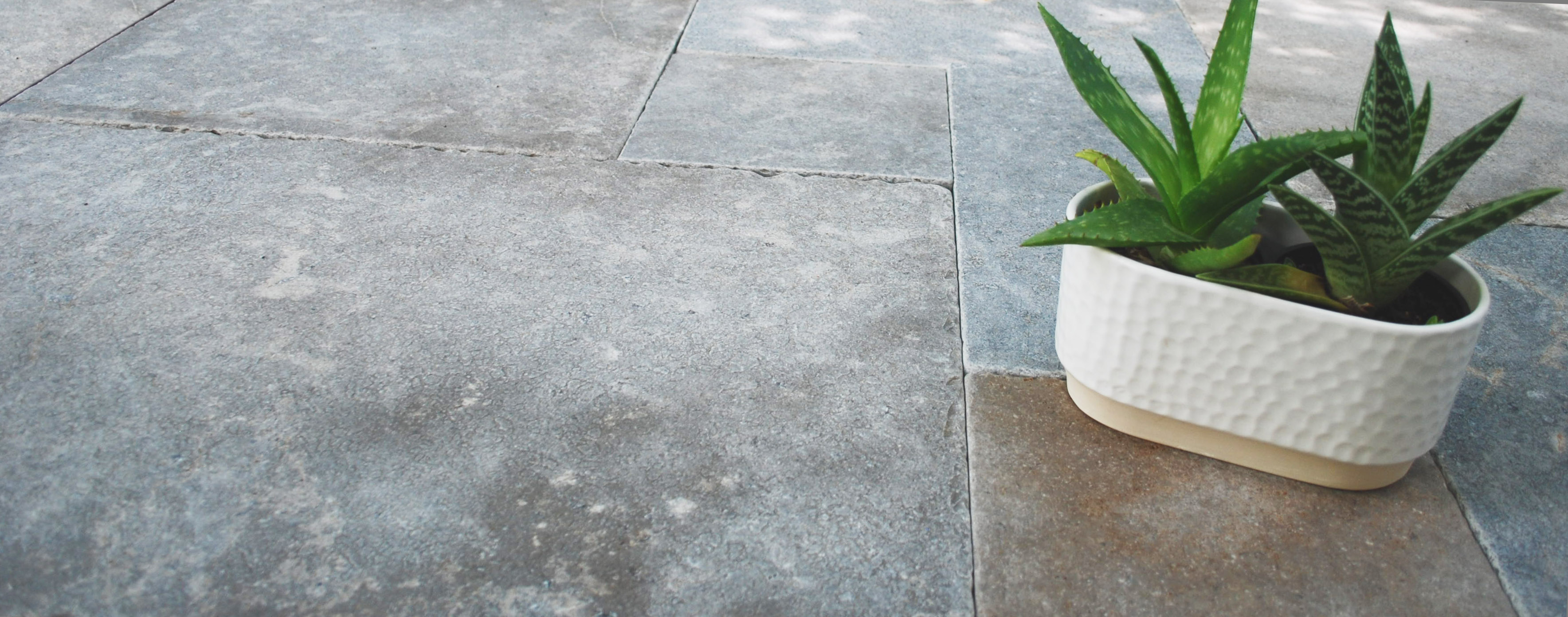Natural grey stones