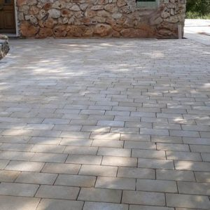 Natural Cèdre Bronze Paving - Cathedral Finish - Pavees 20x40x4 cm
