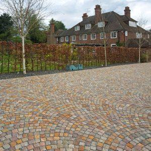 Natural cobblestone - colour blend