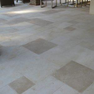 Créma Nova Beige Natural Stone Exterior Floor - Sandblasted and honed Finishes